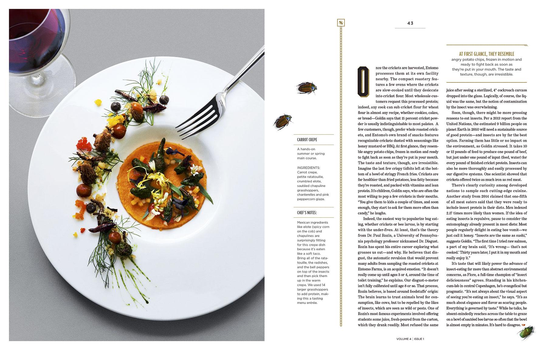 Cadillac Magazine spread